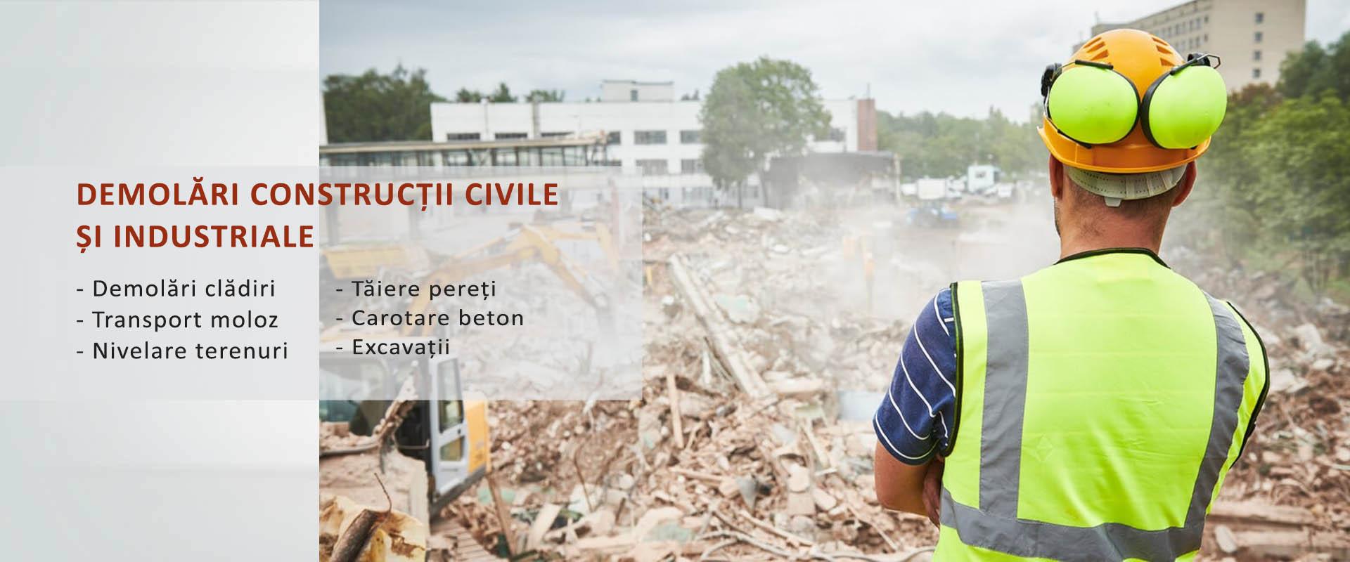 demolari constructii civile si industriale